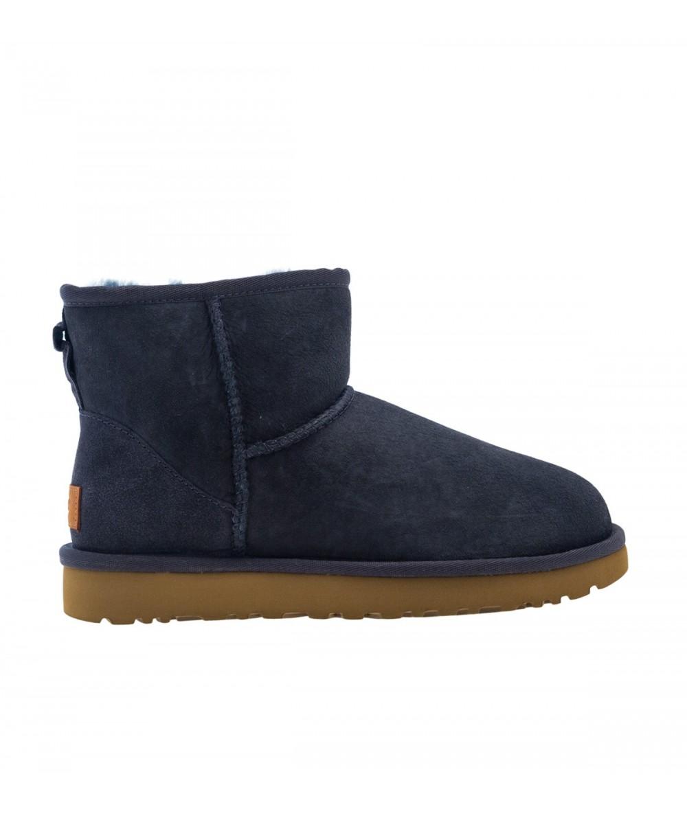 classic mini ugg boots navy
