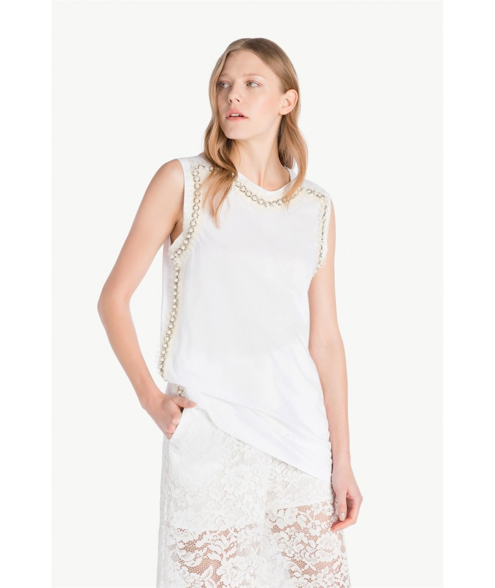 TWINSET DRESS - T-SHIRT TWINSET PS82HN