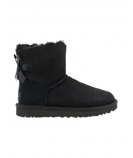 UGG STIVALI W MINI BAILEY BOW II BLACK