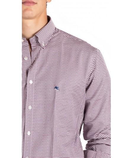 ETRO slim fit blue lines Mandy shirt