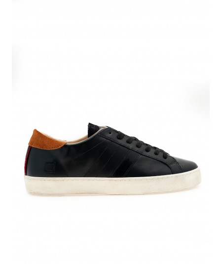 DATE - SNEAKERS HILL LOW CALF BLACK HL-CA-BK