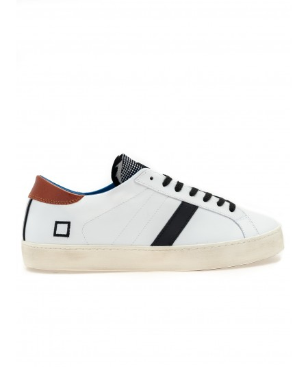DATE - SNEAKERS HILL LOW HALF PERFORATED GRAY