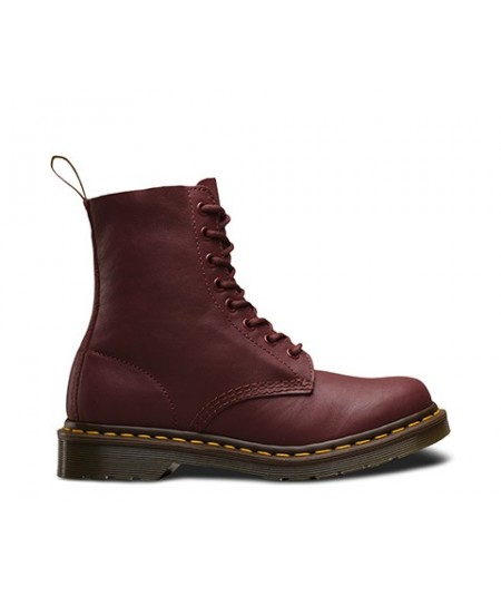 DR MARTENS STIVALI PASCAL VIRGINIA CHERRY RED 1460