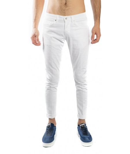 JEANS DONDUP GEORGE SKINNY BIANCO UP232 BS0015 U28