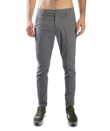 DONDUP TROUSERS GAUBERT SLIM FIT UP235 CS0080 MUD
