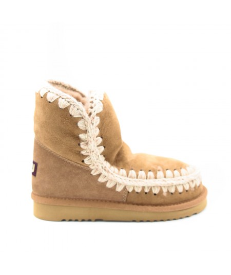 MOU BOOTS ESKIMO 18 SUEDE PINK BROWN