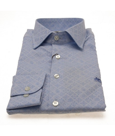ETRO SHIRT BOTTON DOWN SLIM FIT OPERATED COTTON 1K526 6214 0250