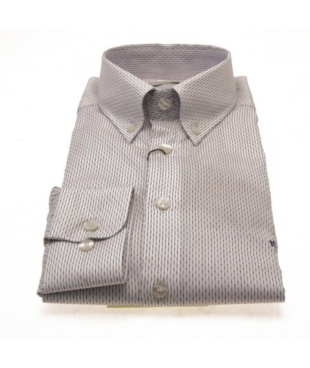 ETRO SHIRT BOTTON DOWN SLIM FIT OPERATED COTTON 1K964 6005 0990