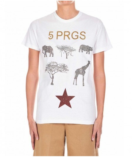 5 PROGRESS T-SHIRT CON SWAROVSKY 1121 SAVANA