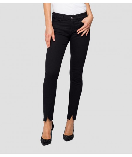 REPLEY JEANS SKINNY FIT NEW LUZ FOR WOMAN WH689 .000.103 09/098 BLACK