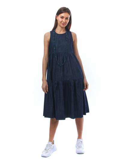KAOS LONG DENIM DRESS NP6GZ011