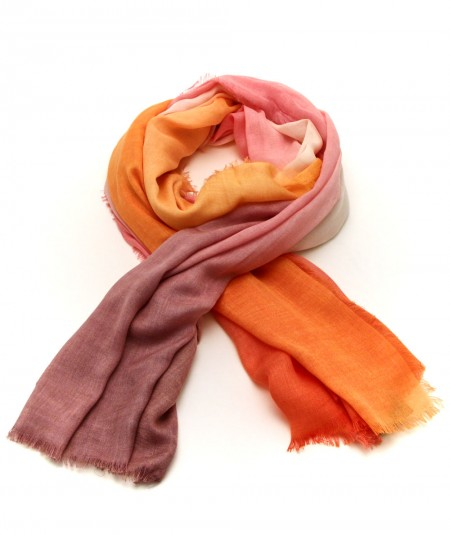 ALTEA SCARF WITH DEGRADE COLOURS PATTERN 2150345/2