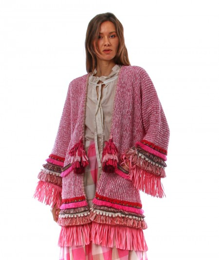 THE EXTREME COLLECTION KNIT PONCHO 1668