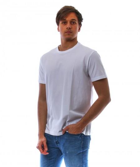 ALTEA WHITE T-SHIRT IN CREPE COTTON 2155200