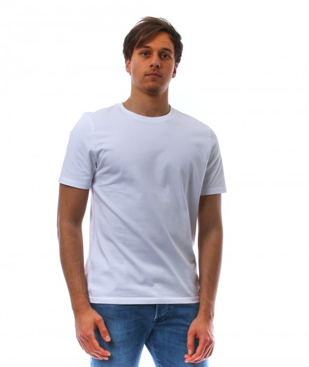 ALTEA WHITE T-SHIRT IN COTTON 215255