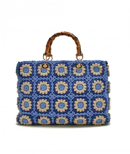 MC2 SAINT BARTH SMALL CROCHET BAG VICTORIA