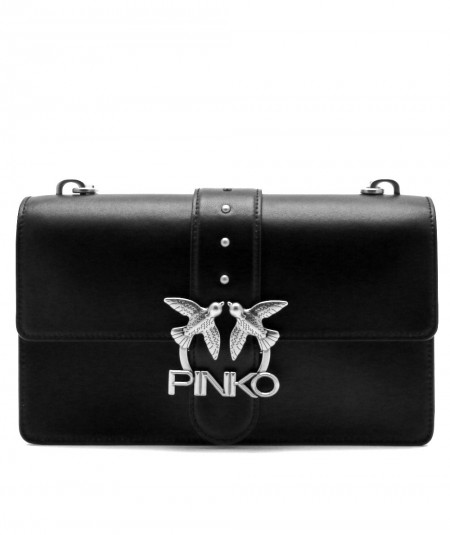 PINKO BAG LOVE CLASSIC ICON SIMPLY 3 BLACK