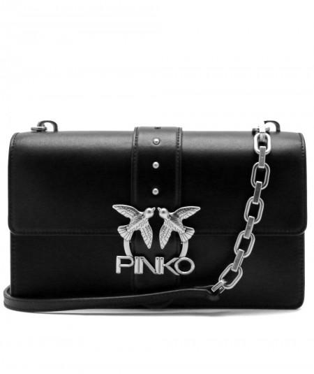 PINKO BAG LOVE CLASSIC ICON SIMPLY 3 BLACK