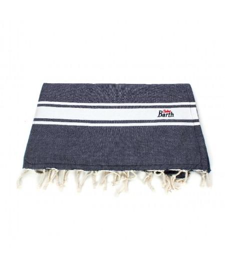 MC2 SAINT BARTH BLUE TOWEL FOUTAS