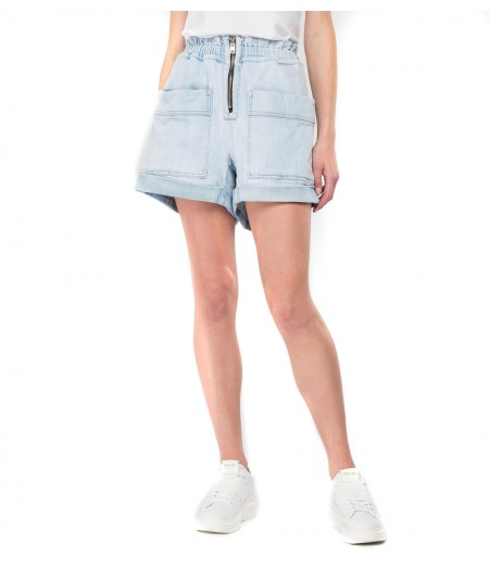 REPLAY DENIM SHORTS WITH FRONTAL ZIP W8519B 000 455859