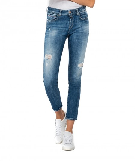 REPLAY JEANS FAABY ROSE LABEL SLIM FIT WA429 000 427843