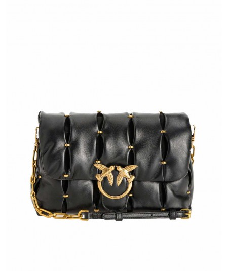 PINKO BAG LOVE CLASSIC PUFF PINCHED CL BLACK