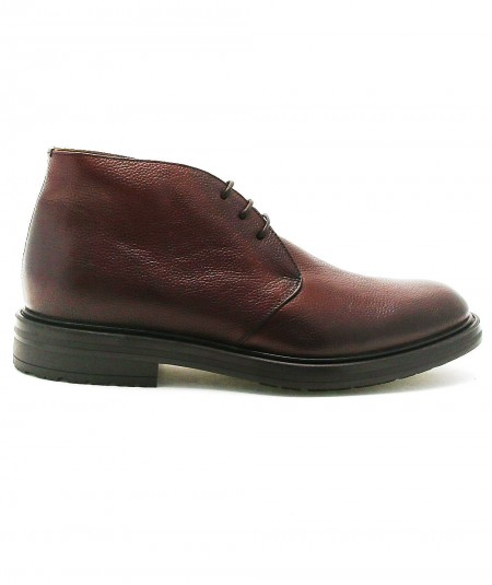 ROSSI LEATHER BOOTS 5084 BROWN