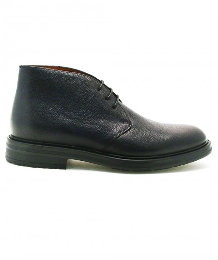 ROSSI LEATHER BOOTS 5084 BLUE