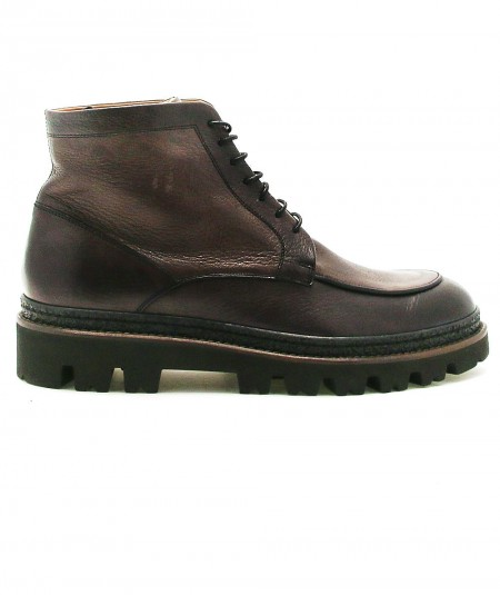 ROSSI LEATHER BOOTS 119P ELEPHANT