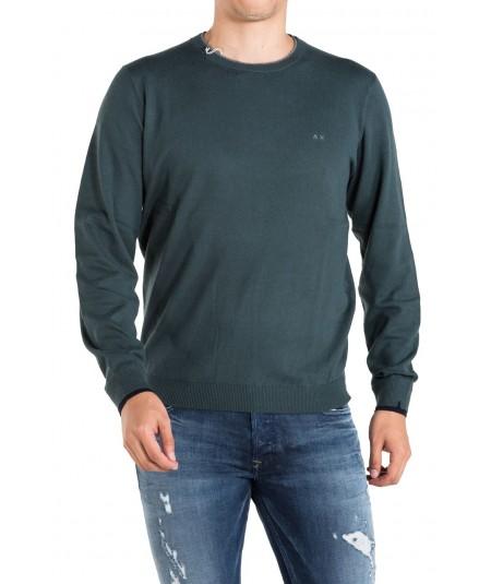 Sun 68 Green sweater