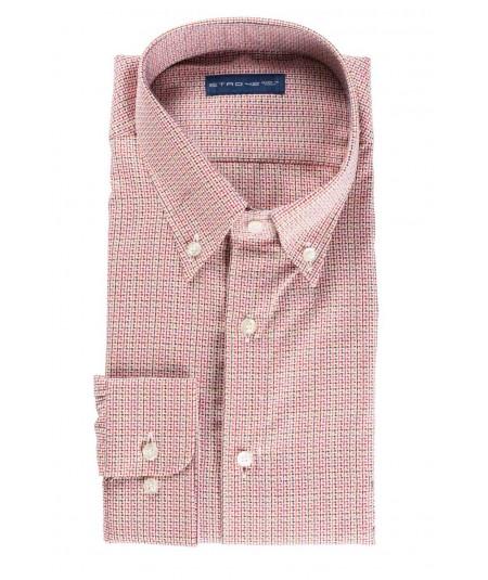 ETRO geometric micro-pattern shirt