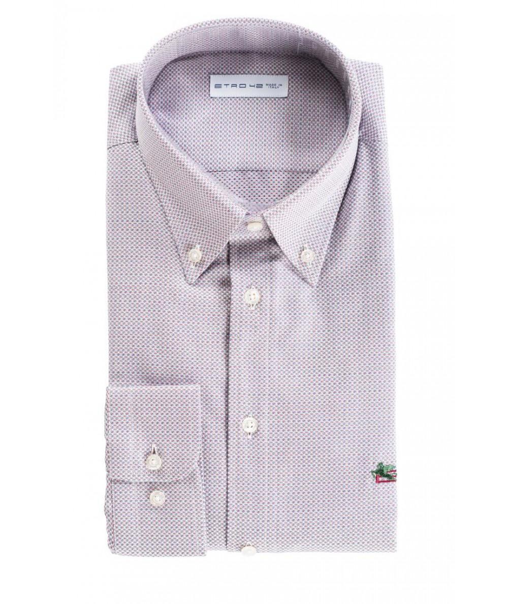 Etro Camicia in Fantasia Multicolor