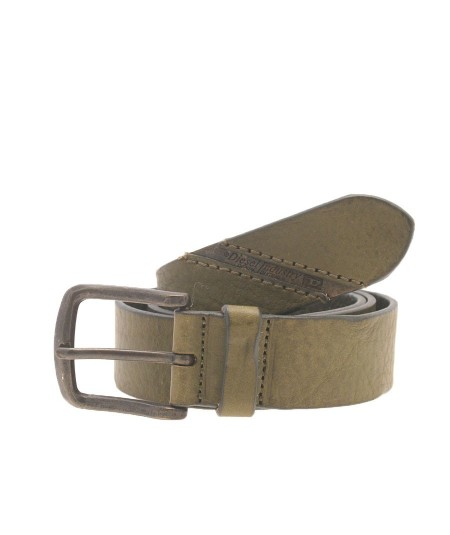 Diesel Green Leather Belt