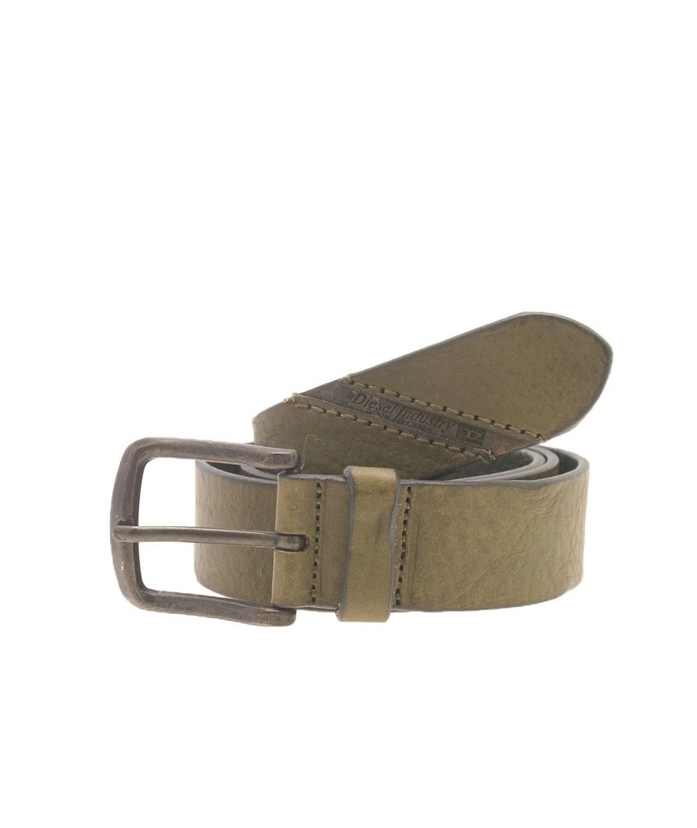 Diesel Cintura Pelle Verde