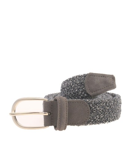 Anderson's gray fabric woven belt