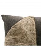 MONDRIAN Cuscino 40 x 40 cm in vera pelle cavallino Solden 2