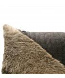 MONDRIAN Cuscino 25 x 50 cm in vera pelle cavallino Solden 1