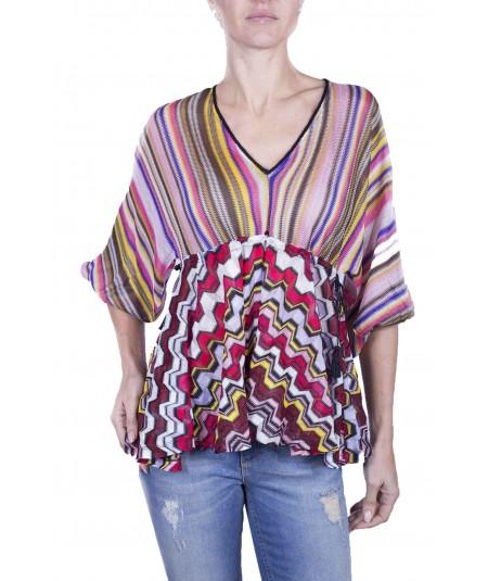 Pinko blouse in ethnic design