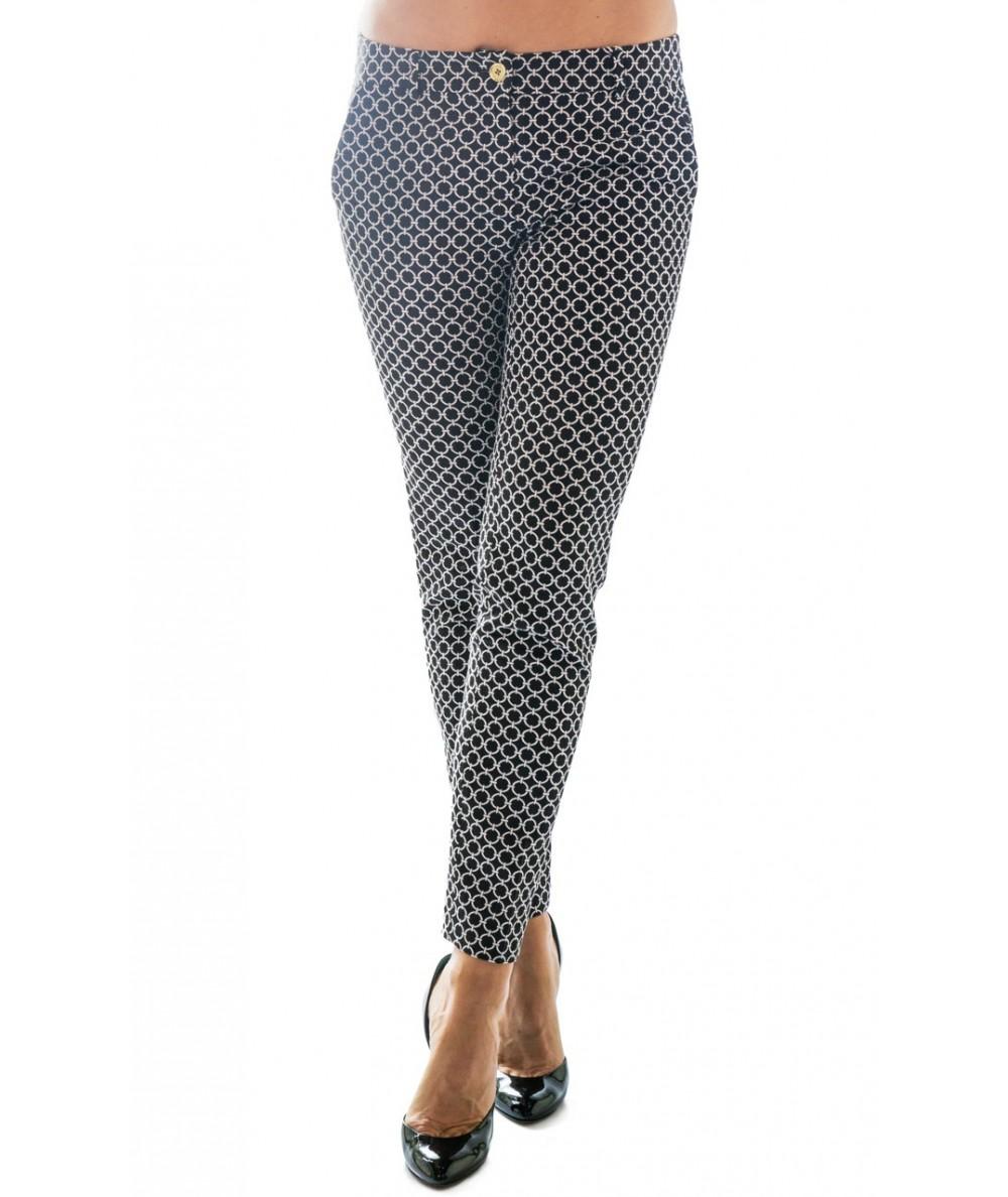 Michael Kors pantaloni fantasia geometrica
