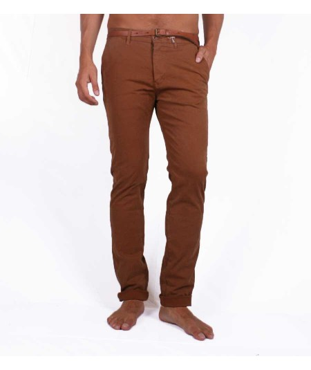 Scotch&Soda slim fit chinos brown pants