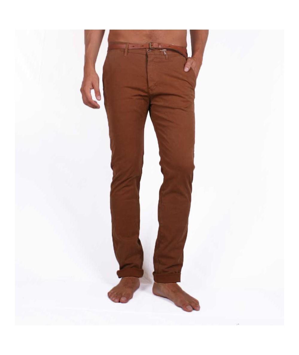 Scotch&Soda slim fit chinos brown pants