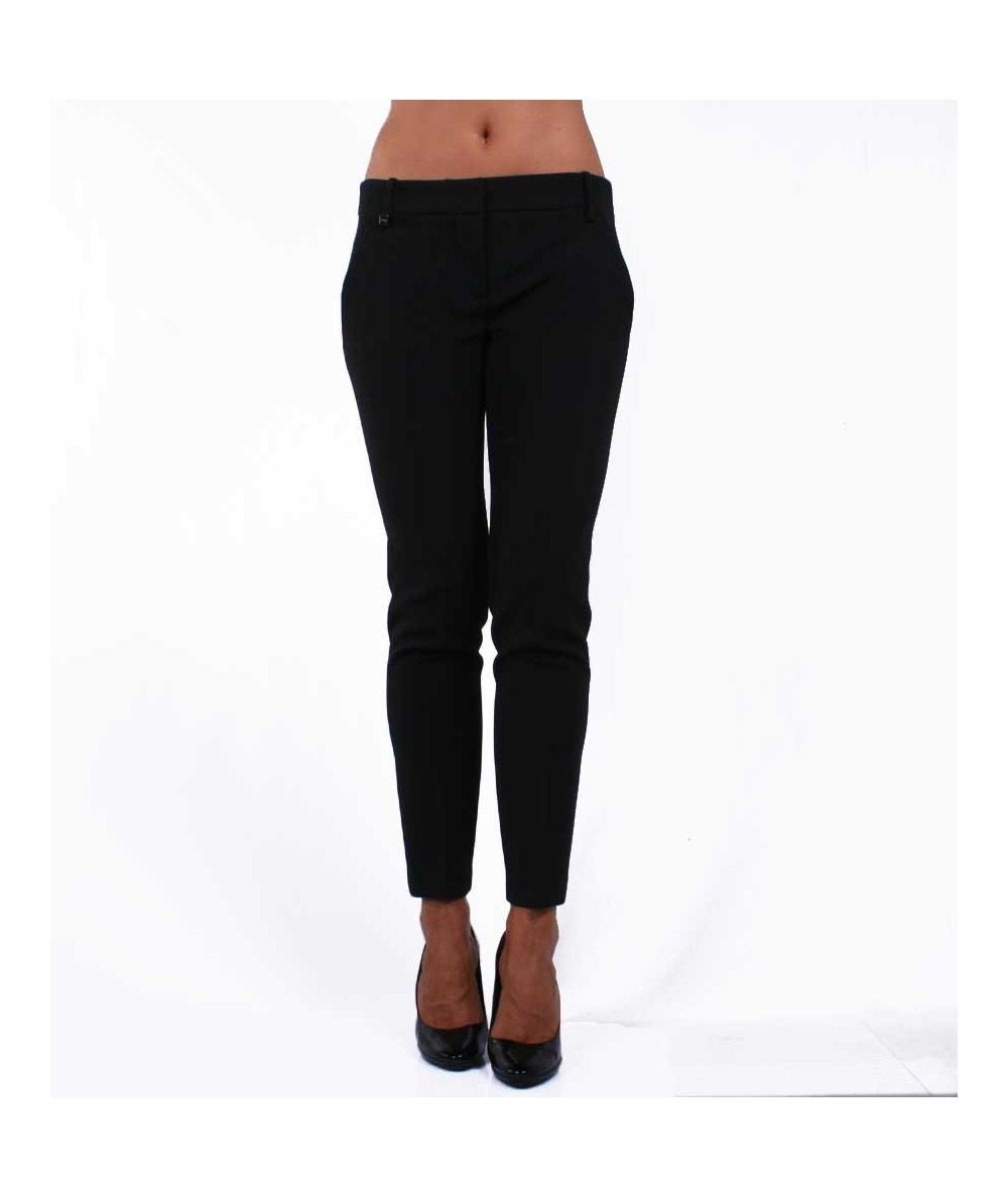 Black slim fit Trousers Pinko