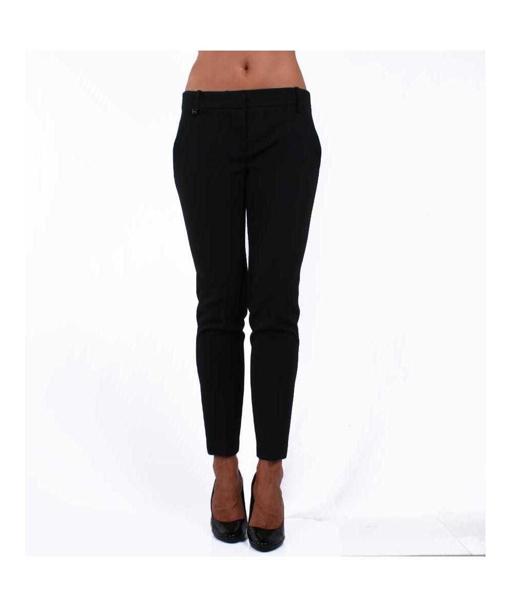 Black slim fit Trousers Pinko