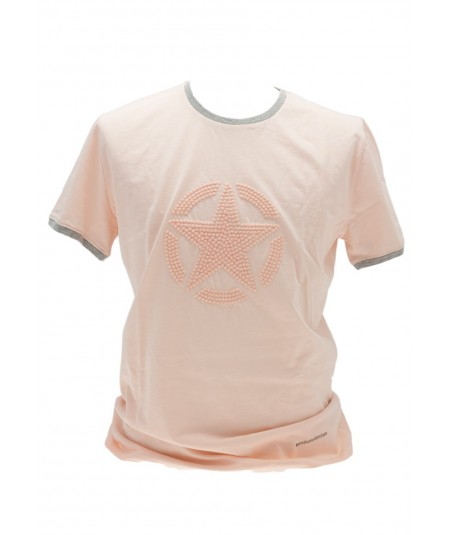 JEEP T-SHIRT STAR PUFFY ROSA
