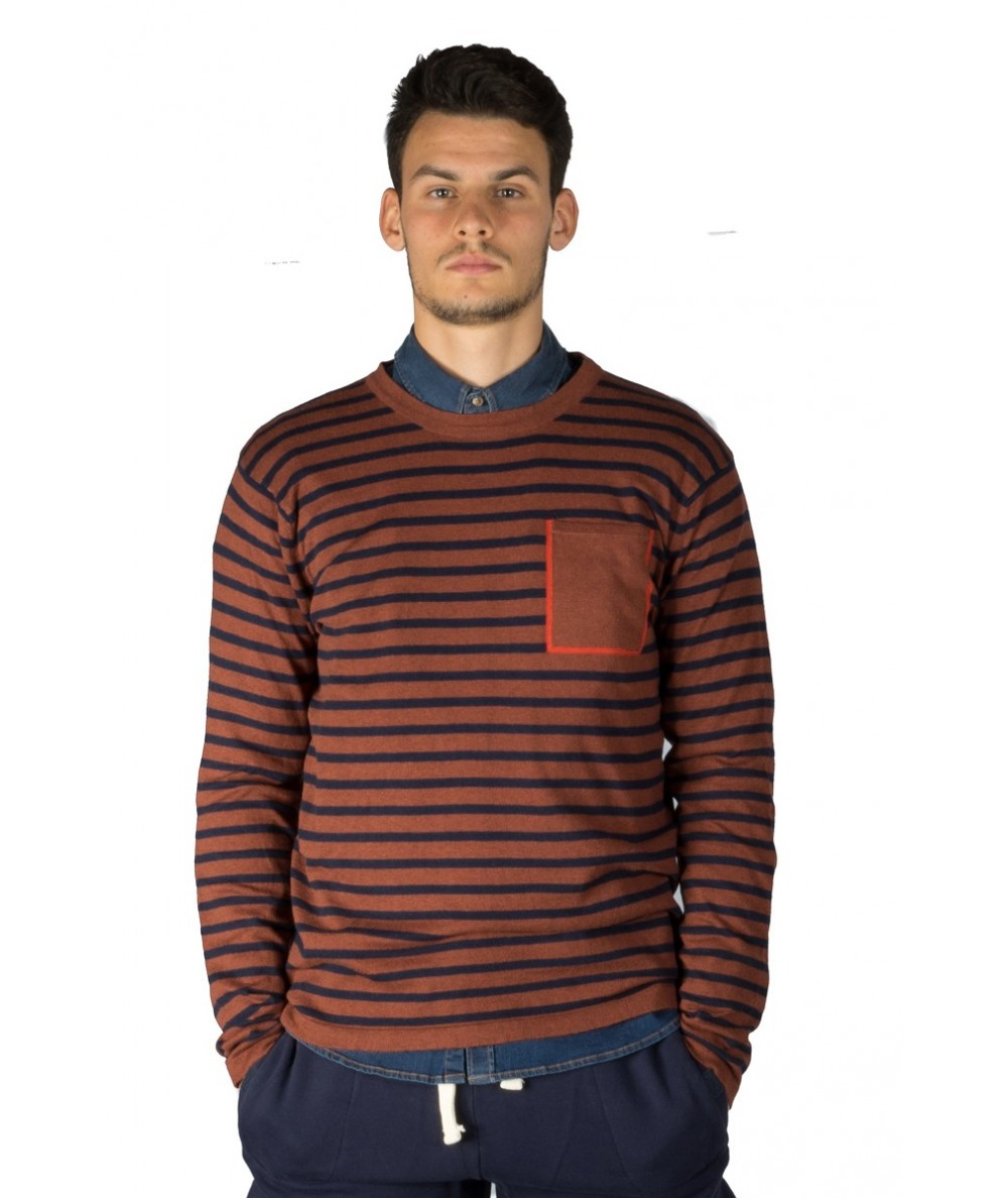 SCOTCH & SODA GIROCOLLO RIGATO 139791